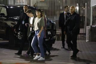 Selena Gomez and Caleb Stevens Leaves Taylor Swift's Concert in Pasadena
