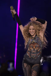 Shakira performs on El Dorado World Tour at Wizink Center in Madrid