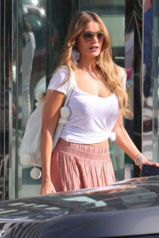 Sofía Vergara Out Shopping in Beverly Hills