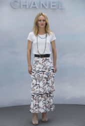 Vanessa Paradis at Chanel Show at Haute Couture Fashion Week in Paris