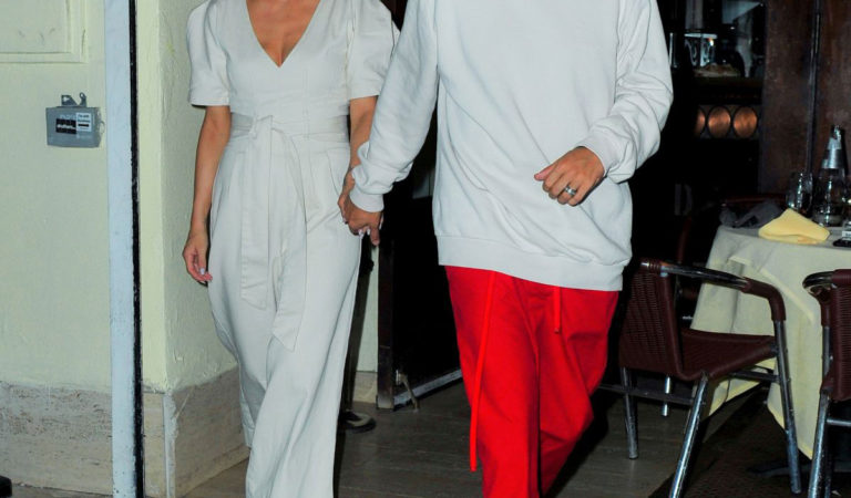 Celebrity Night Out – Ashlee Simpson and Evan Ross Night Out in New York