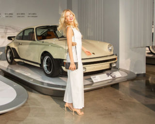 Athena Brensberger at Cars and Fashion Event in LA