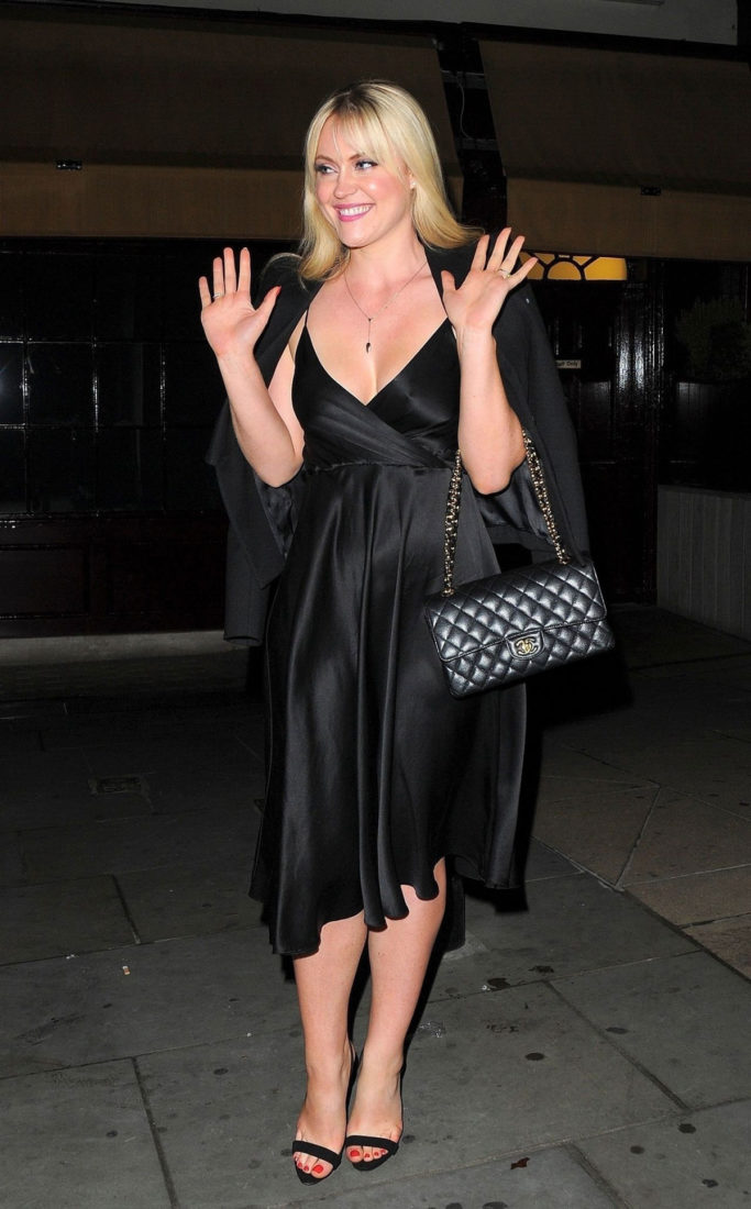 Camilla Kerslake Night Out at Loulou's in MayfairCamilla Kerslake Night Out at Loulou's in Mayfair