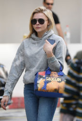 Chloë Grace Moretz Out and About in London