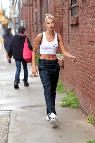 Hailey Baldwin Out in Brooklyn