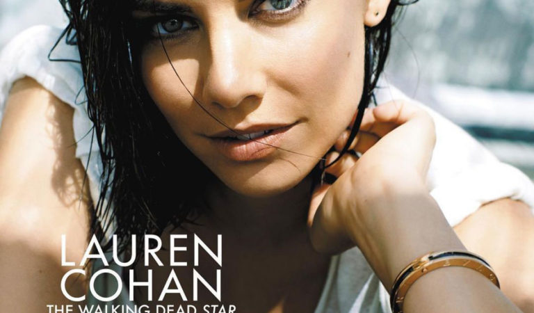 Magazine Covers – Lauren Cohan on the Cover of Sunday Life Magazine (August 2018)