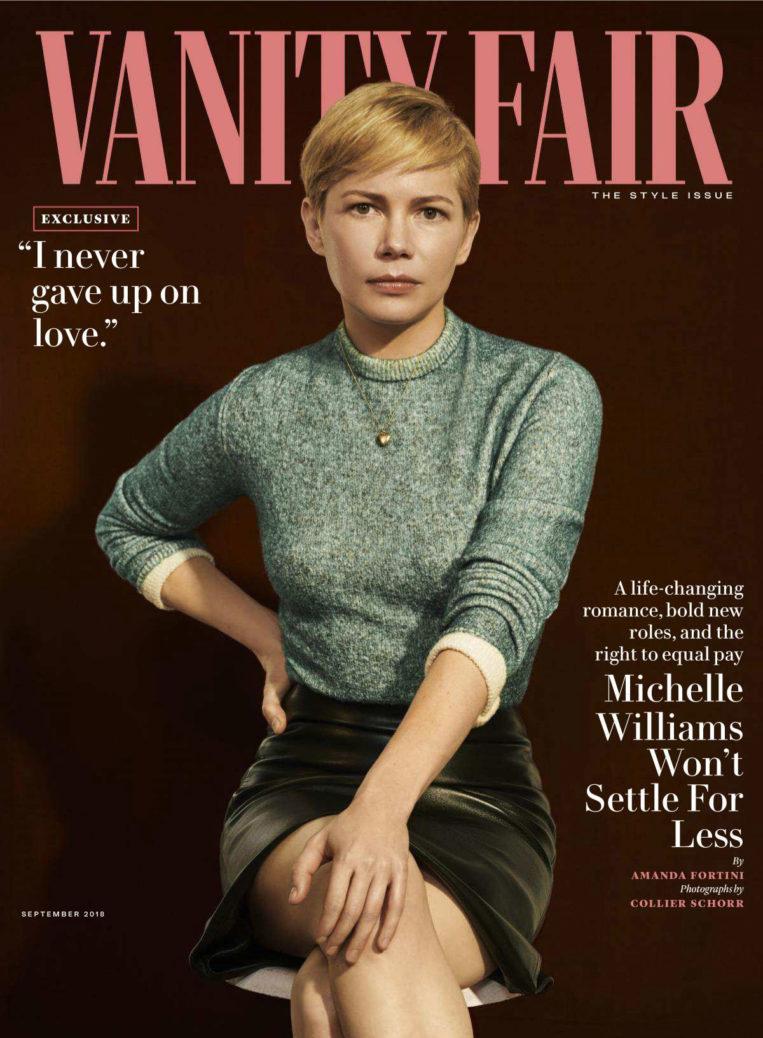 Michelle Williams in Vvanity Fair Magazine (September 2018)