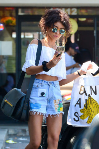Sarah Hyland Out and About in Studio City