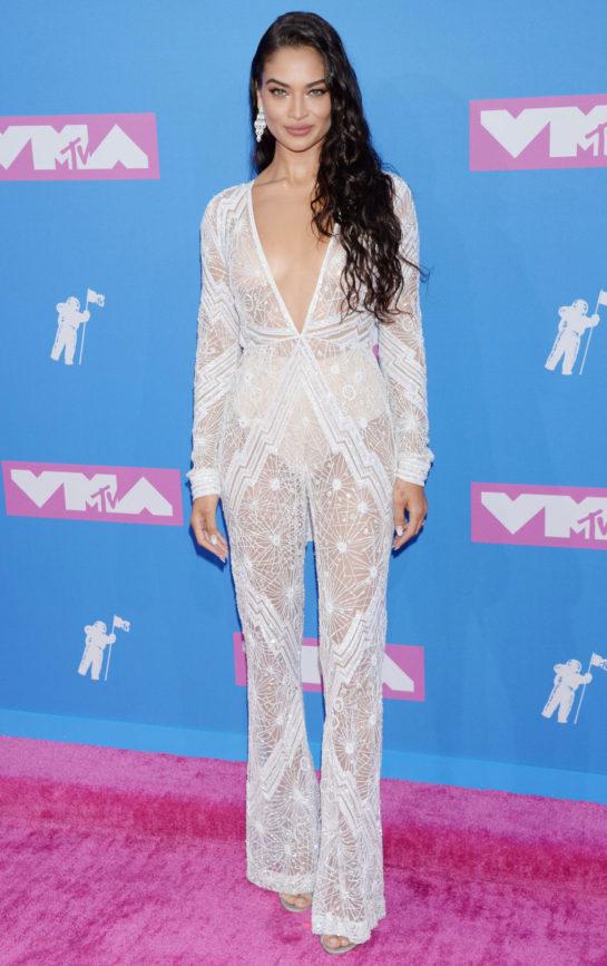 Shanina Shaik at MTV Video Music Awards in New York