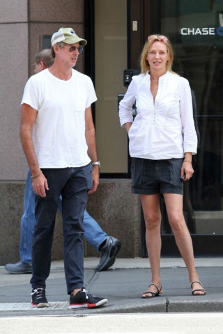 Uma Thurman Out in New York