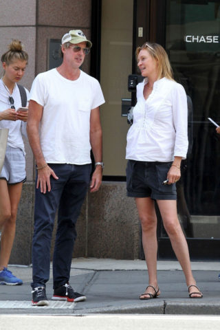 Uma Thurman Out in New YorkUma Thurman Out in New York