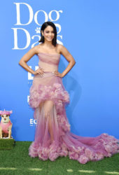 Vanessa Hudgens at Dog Days Premiere in Century City