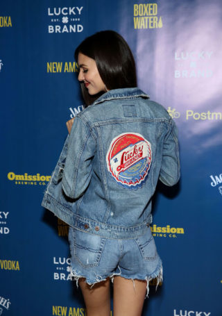 Victoria Justice at Lucky Brand Presents City Jam 2018 in Chicago