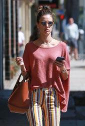 Alessandra Ambrosio Shopping at Burro in Santa Monica