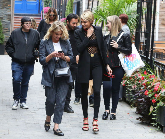 Ashley Benson and Cara Delevingne Out in Toronto