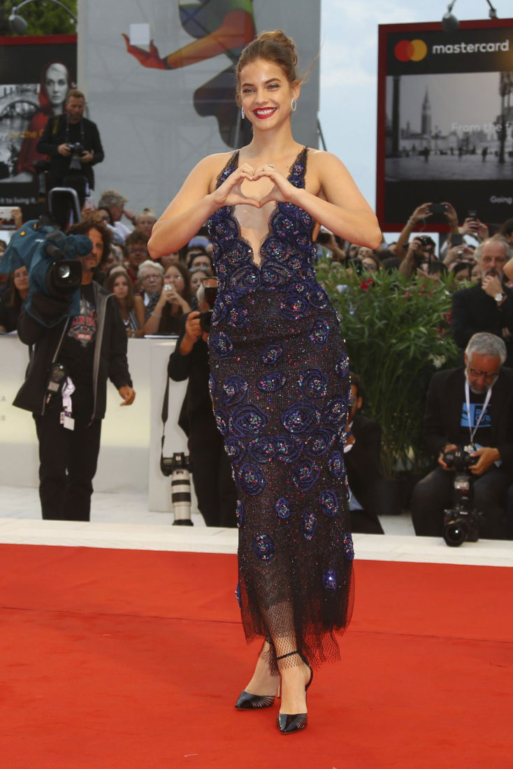Barbara Palvin at Suspiria Premiere at 2018 Venice International Film Festival