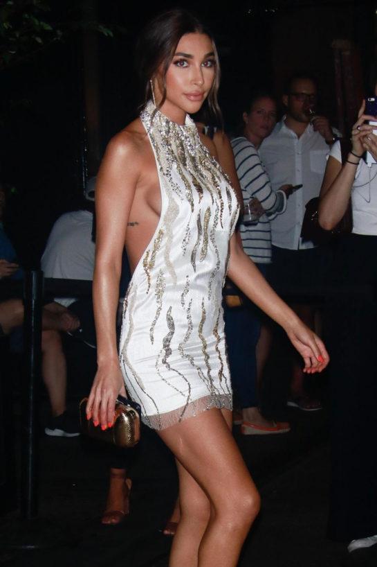 Chantel Jeffries at New York Fashion Week