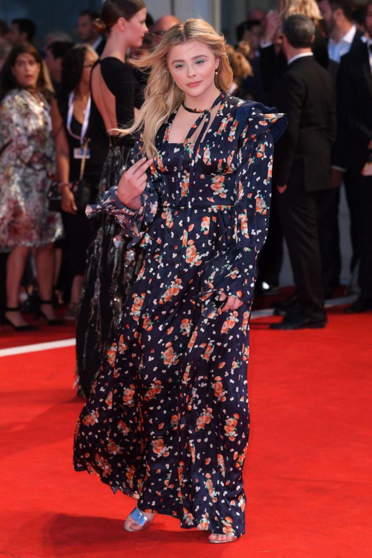 Chloë Grace Moretz at Suspiria Premiere at 2018 Venice International Film Festival