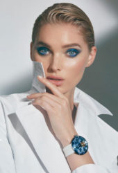 Elsa Hosk at Jacob & Co. Jewelry Campaign, September 2018