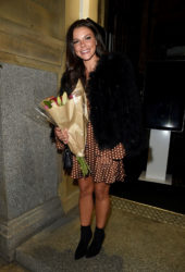 Faye Brookes Celebrates 29th Birthday at Rosso Restaurant in Manchester