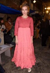 Jodie Comer at Molly Goddard Show at London Fashion Week
