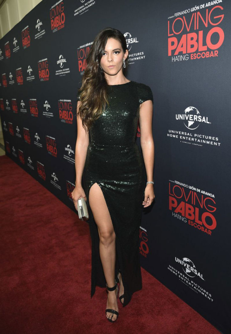 """Julieth Restrepo at """"Loving Pablo"""" Special Screening in West Hollywood"""