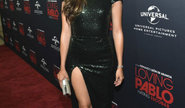 """Red Carpet – Julieth Restrepo at """"Loving Pablo"""" Special Screening in West Hollywood"""