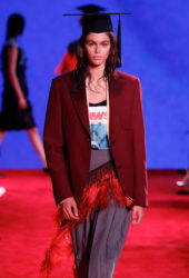 Kaia Gerber at Calvin Klein Runway Show at New York Fashion Week