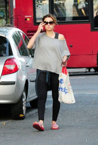 Kara Tointon Out in North London