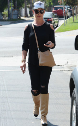 Katherine Heigl Out and About in Los Angeles