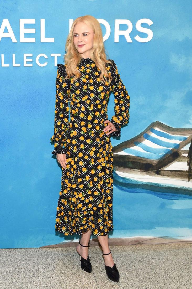 Nicole Kidman at Michael Kors Fashion Show at NYFW