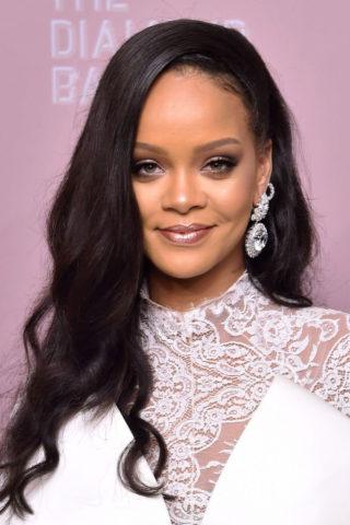 Rihanna at Rihanna's 2018 Diamond Ball in New York