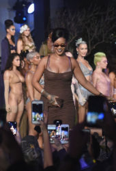 Rihanna at Savage x Fenty Show at New York Fashion Week