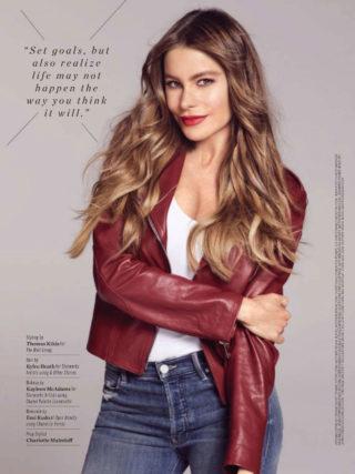 Sofía Vergara in Health Magazine (October 2018)
