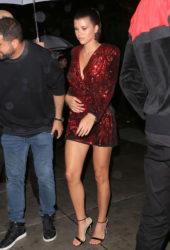 Sofia Richie at Wilhelmina party New York Fashion Week