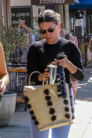 Sophia Bush at Farmers Market in LA