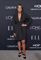 Aja Naomi King at ELLE Women in Hollywood in Los Angeles