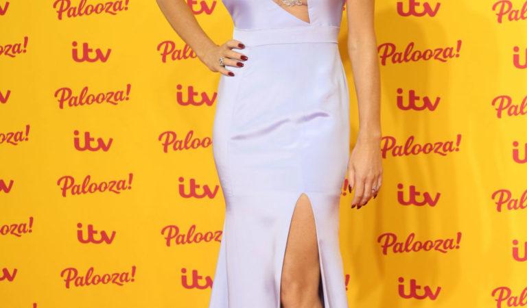 Celebrity Dresses – Amanda Holden at ITV Palooza 2018 in London