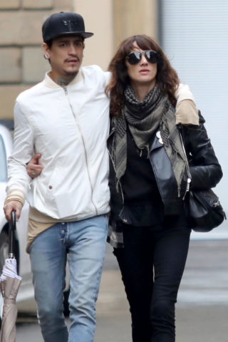 Asia Argento Out in Florence