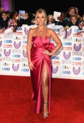 Billie Faiers at Pride of Britain Awards 2018 in London
