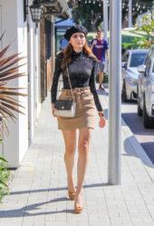 Blanca Blanco Out Shopping in Malibu