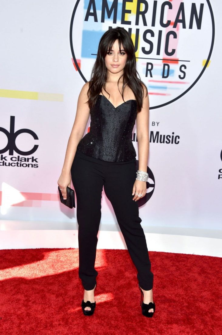 Camila Cabello at 2018 American Music Awards in Los Angeles