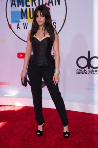 Camila Cabello at 2018 American Music Awards in Los AngelesCamila Cabello at 2018 American Music Awards in Los Angeles