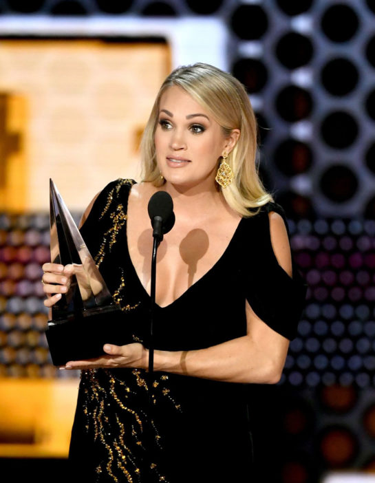 Carrie Underwood at 2018 American Music Awards in Los Angeles