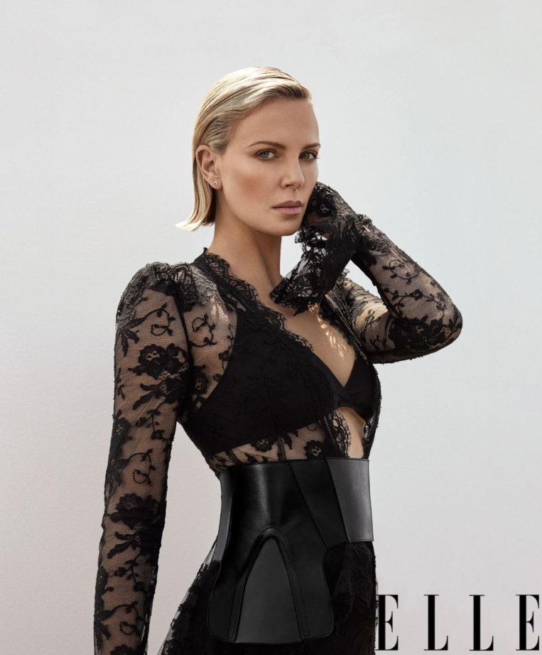 Charlize Theron for ELLE Magazine (November 2018)