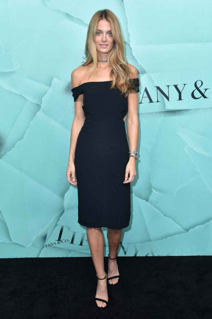 Constance Jablonski at Tiffany & Co. Celebrates 2018 Tiffany Blue Book Collection in New York