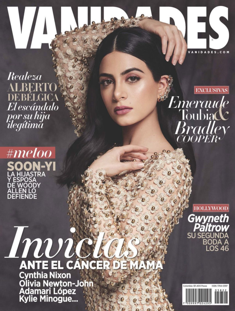 Emeraude Toubia on the Cover of Vanidades Magazine (Colombia November 2018)