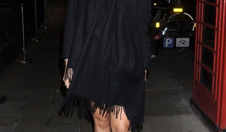 Celebrity Birthdays – Emily Canham at Tallia Storm's 20th Birthday Party in London
