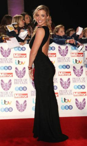 Gemma Atkinson at Pride of Britain Awards 2018 in London