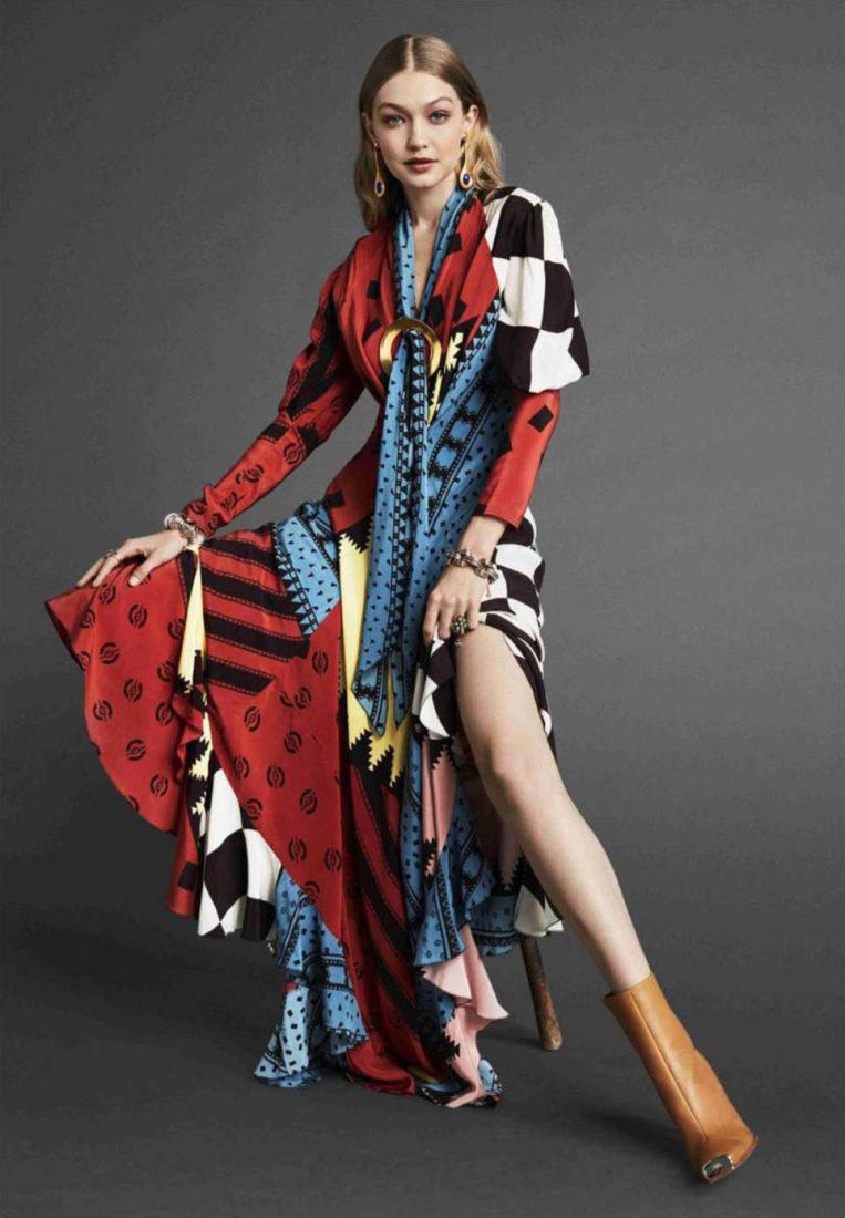 Gigi Hadid for Vogue (October 2018)